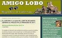Amigo lobo Blog lobero de Carlos Sanz